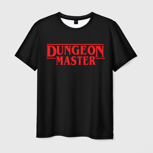 Мужская 3D футболка с принтом Stranger Dungeon Master, вид спереди #2