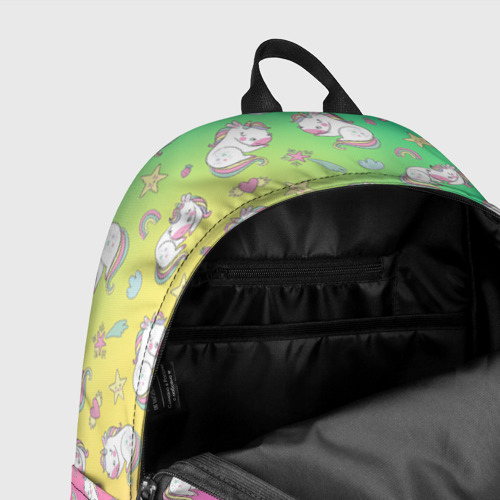Рюкзак 3D с принтом Спящий милашка пони, фото #7