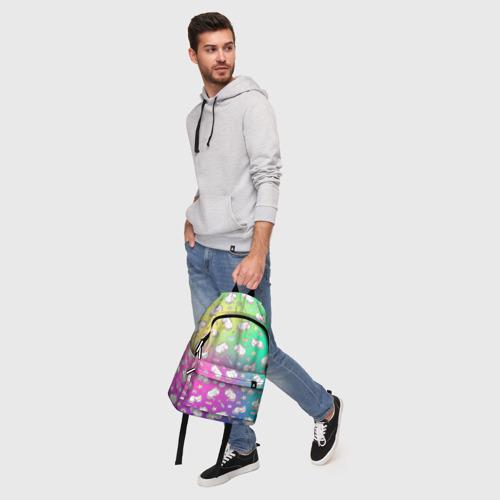 Рюкзак 3D с принтом Спящий милашка пони, фото #5
