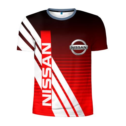 Мужская футболка 3D спортивная NISSAN /  НИССАН / СПОРТ