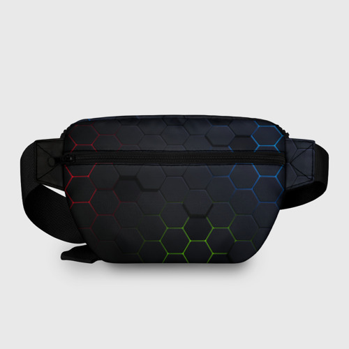 Поясная сумка 3D с принтом STANDOFF 2 / Z9 MASK COLOR, вид сзади #1