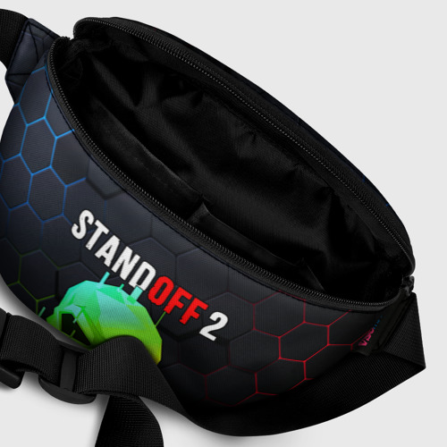 Поясная сумка 3D с принтом STANDOFF 2 / Z9 MASK COLOR, фото #6