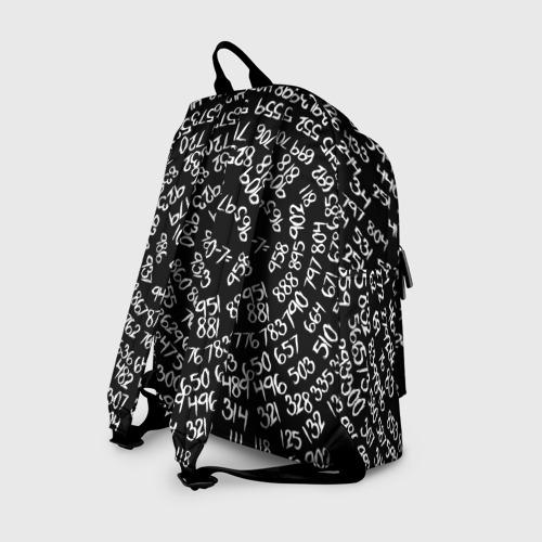 Рюкзак 3D с принтом 1000-7, вид сзади #1