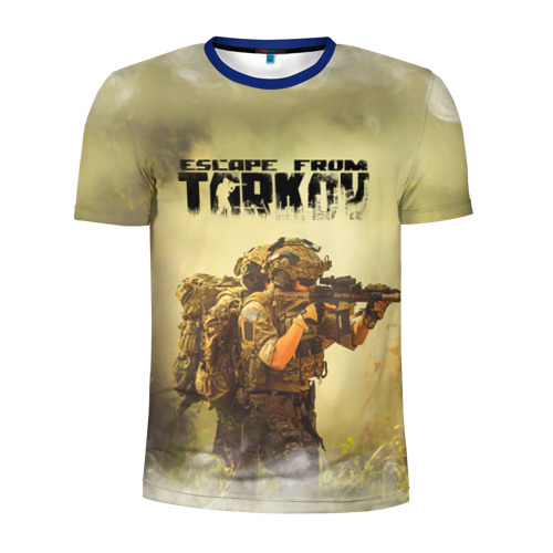 Мужская футболка 3D спортивная Escape from Tarkov   Побег из Таркова (Z)