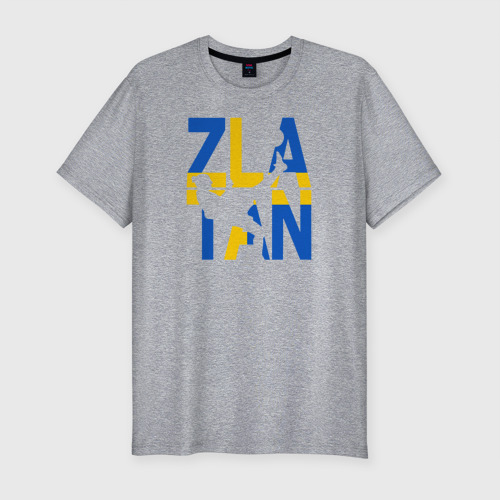 Мужская футболка премиум ЗЛАТАН флаг Швеции