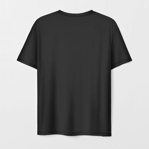 Мужская 3D футболка с принтом Doom Gachi Remix, вид сзади #1