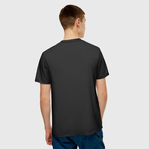 Мужская 3D футболка с принтом Doom Gachi Remix, вид сзади #2