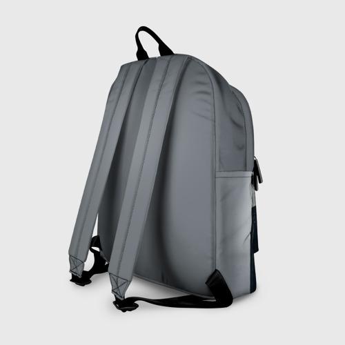 Рюкзак 3D с принтом Maneskin, вид сзади #1