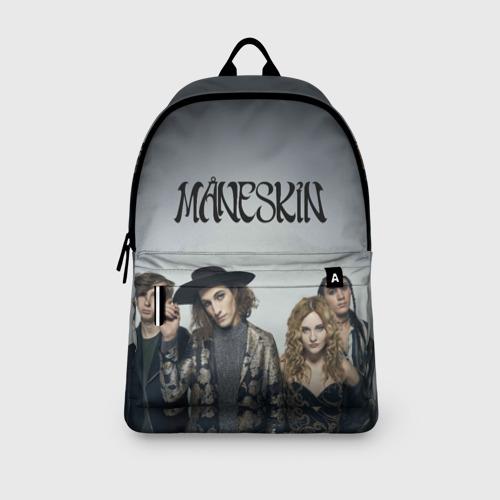 Рюкзак 3D с принтом Maneskin, вид сбоку #3