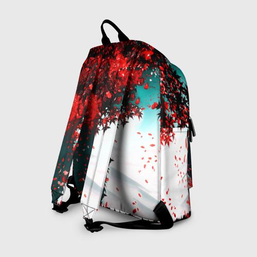 Рюкзак 3D с принтом Итачи Акацуки, вид сзади #1