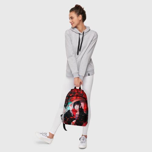Рюкзак 3D с принтом Итачи Акацуки, фото #6