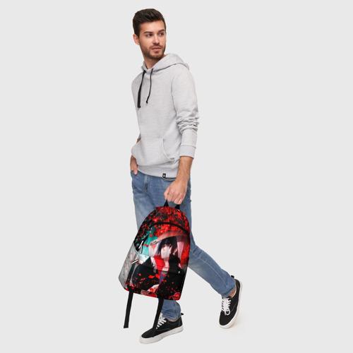 Рюкзак 3D с принтом Итачи Акацуки, фото #5