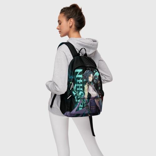 Рюкзак 3D с принтом XIAO, фото #4
