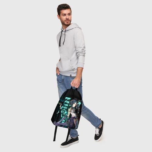Рюкзак 3D с принтом XIAO, фото #5