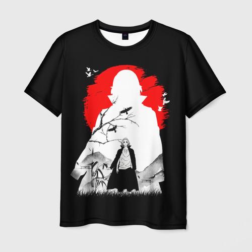 Мужская 3D футболка с принтом MIkki токийские мстители микки, вид спереди #2