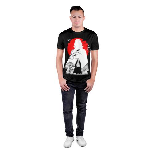 Мужская футболка 3D спортивная с принтом MIkki токийские мстители микки, вид сбоку #3