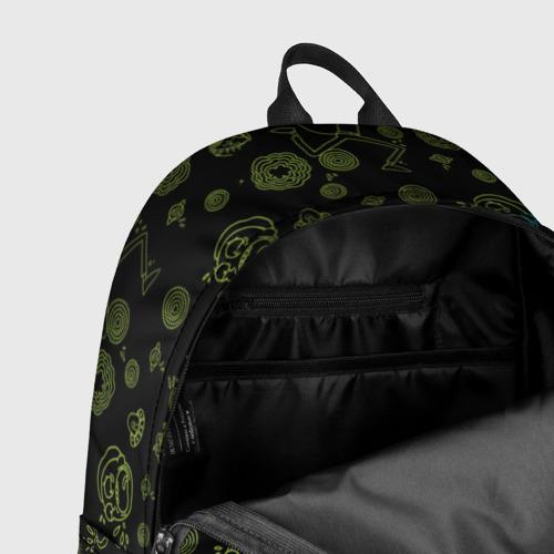Рюкзак 3D с принтом Wubba Lubba dub (рюкзак), фото #7