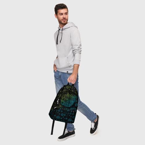 Рюкзак 3D с принтом Wubba Lubba dub (рюкзак), фото #5