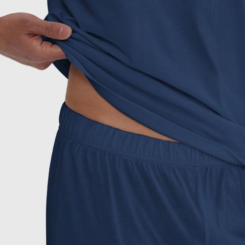 Мужская пижама хлопок с принтом Messi 30 PSG, фото #4
