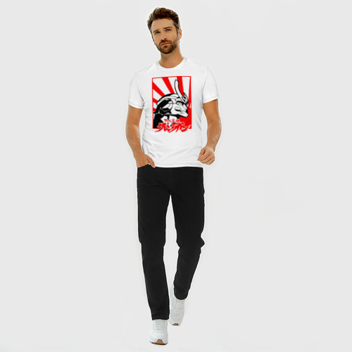 Мужская футболка премиум с принтом Гуррен-Лаганн, вид сбоку #3