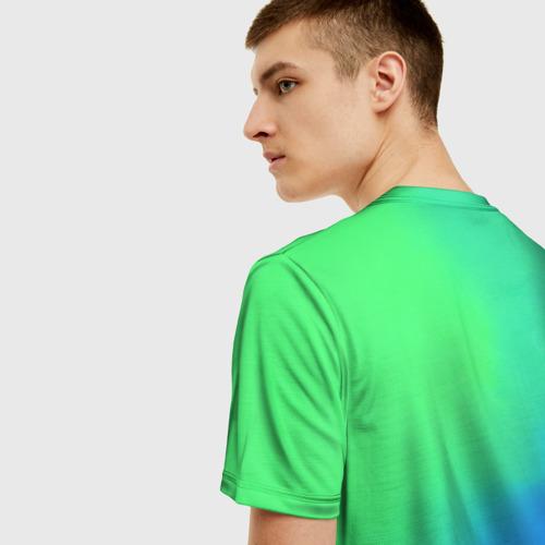 Мужская 3D футболка с принтом Скриптонит Бейби Мама, вид сзади #2